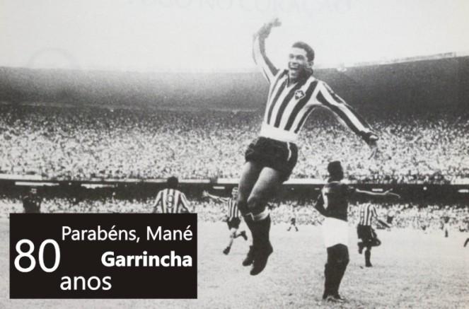 Cabeça Garrincha 80 anos 2