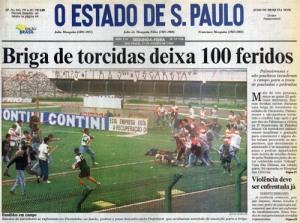 Imagem 3.O Estado de são Paulo, 21/08/1995.