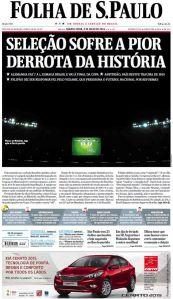 """Folha de São Paulo destaca o """"Mineirazzo"""""""