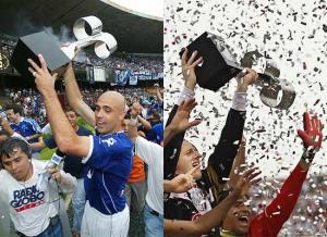 Cruzeiro e São Paulo, os maiores vencedores do Brasileirão na era dos pontos corridos (3 títulos cada), são também aqueles que por mais tempo frequentaram o G-4 nos últimos 12 anos. (Foto: Folha de São Paulo)