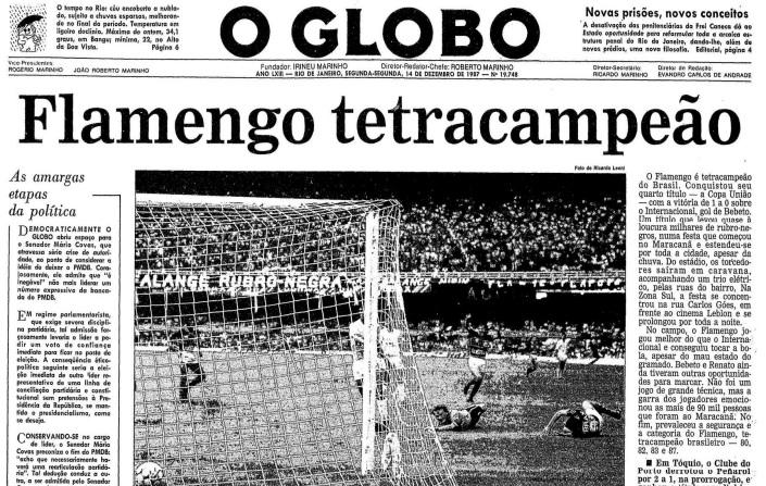 A Copa União de 87, como foi chamado o Brasileirão daquele ano, foi um dos torneios de futebol mais controversos do país a ponto de, até hoje, Flamengo e Sport batalharem na Justiça por validação de resultados e títulos, com muitas reviravoltas.