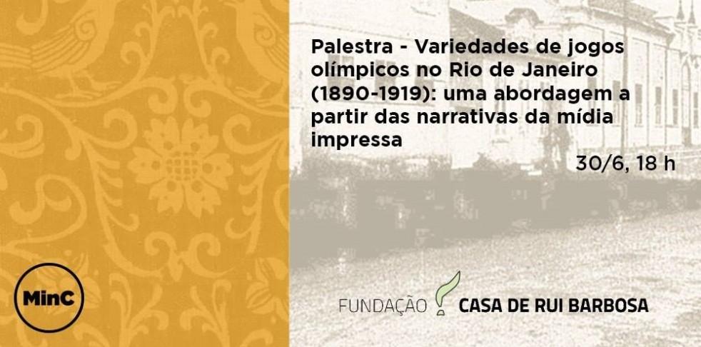Palestra na Fundação Casa de Ruy Barbosa será ministrada pelo integrante do LEME Fausto Amaro.